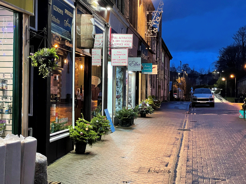 Milngavie Mugdock Road Dec 2020