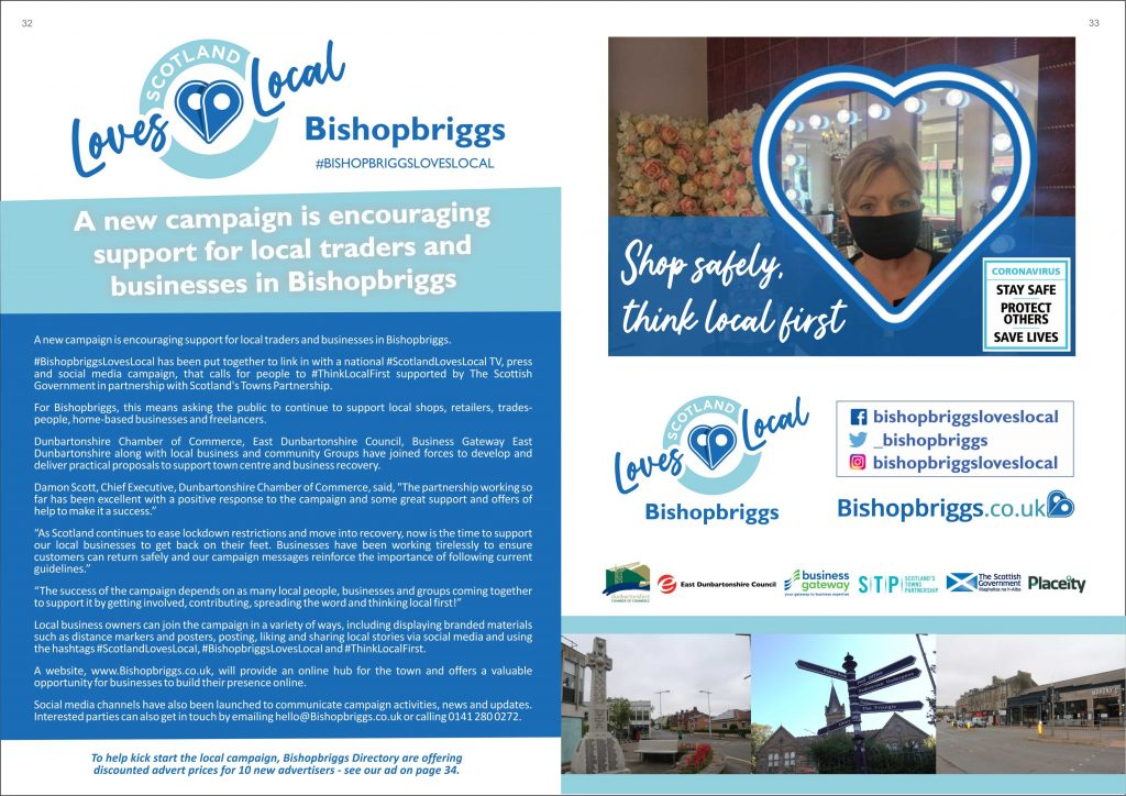 bish love local a4 magazine article